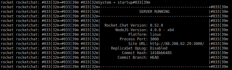 Deployment Guide for Rocket Chat open source app