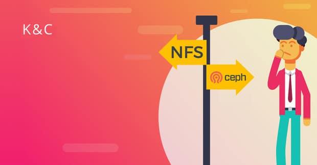 CEPHFS vs NFS For Docker Cluster Data Storage?