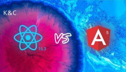Angular 6 versus React 16.3