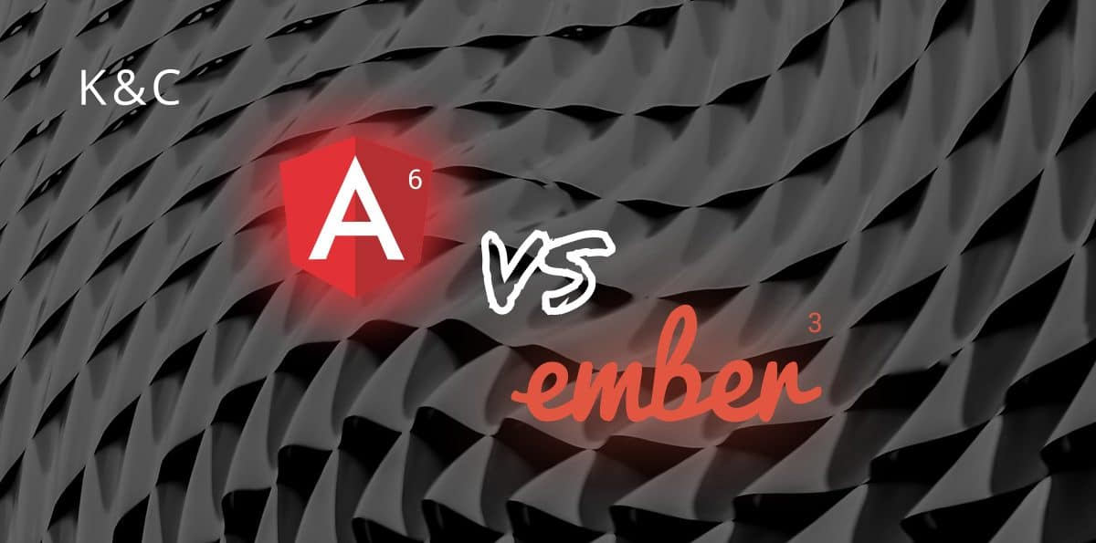 Angular 6 vs Ember 3