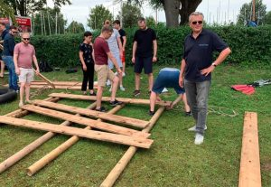 Ammersee Raft Building