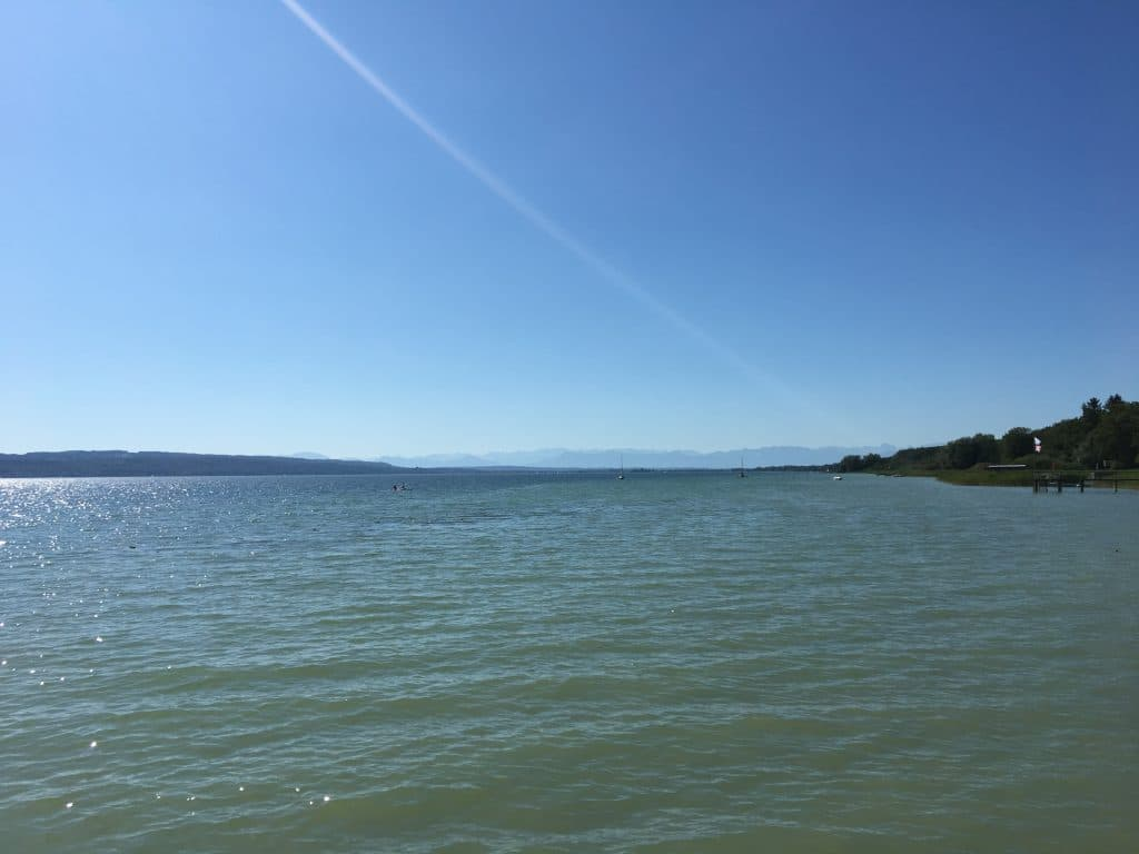 Ammersee Lake Bavaria