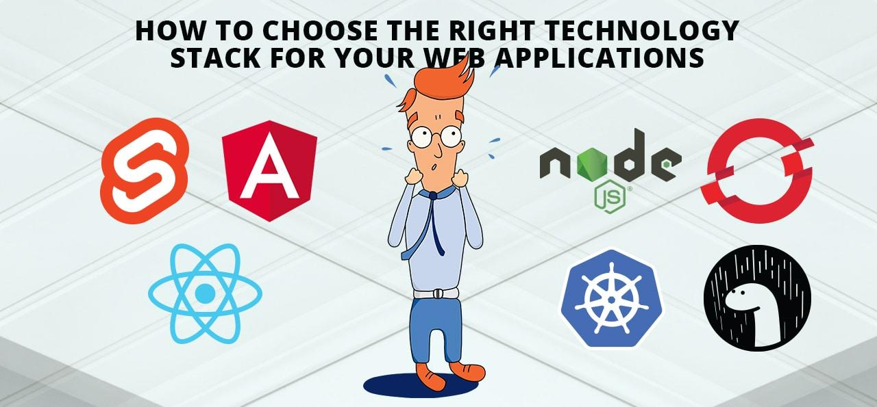 Why the right technology stack for your web applications is such a crucial strategic decision and a checklist to get it right