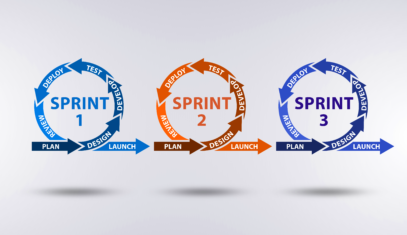 Agile methodology for software and app development