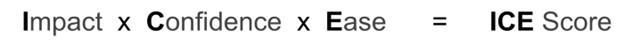 ICE score equation