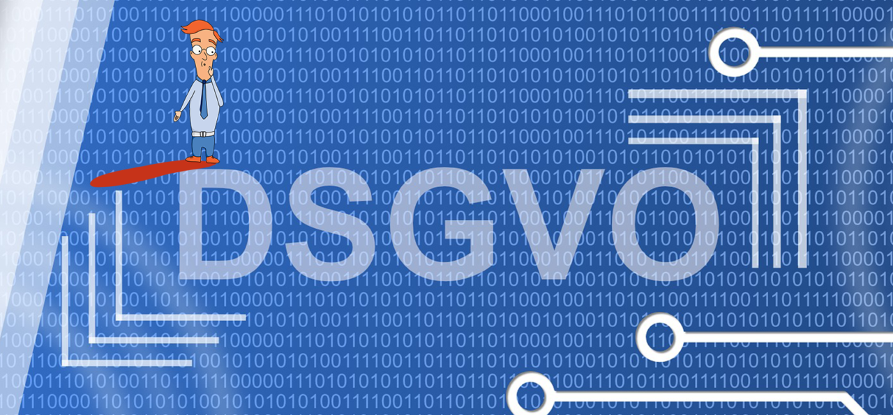 Cover image for blog on DSGVO rules and considerations around IT outsourcing and software entwicklung unternehmen